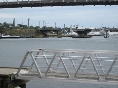 Across the Bay to Glebe Island