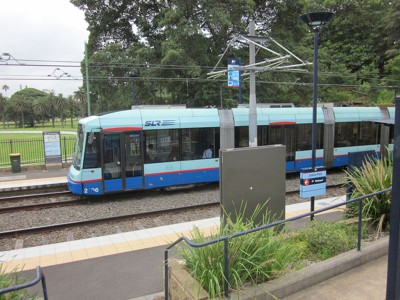 Jubilee Park light rail