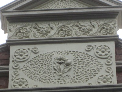 Floral moulding at 29 Arcadia Road