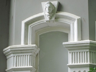 Wall-surfaces - moulded decoration, 15 Arcadia Rd